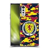 Head Case Designs Licenciado Oficialmente Scotland National Team Camuflaje Logotipo 2 Carcasa de Gel de Silicona Compatible con LG Velvet / 5G