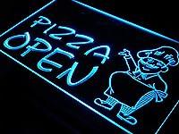 ADVPRO i183-b OPEN Pizza Shop Cafe Restaurant LED看板 ネオンプレート サイン 標識