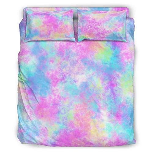 warm Bett-Set Luxus-Bettwäsche Ultraweiche Teenie-Bettwäsche aus Mikrofaser für Jungen White 228x228cm