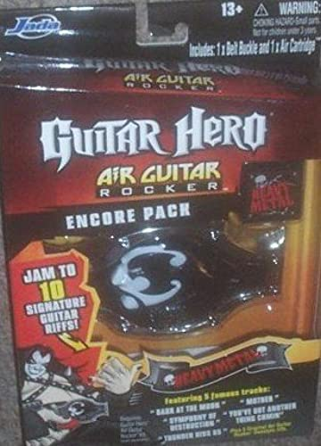 60% de descuento Guitar Hero Air Guitar Guitar Guitar Rocker Encore Pack Heavy Metal by Jada by Jada  100% garantía genuina de contador