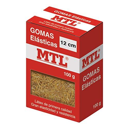 MTL 16369 - Caja gomas elásticas, 1.5 mm x 12 cm