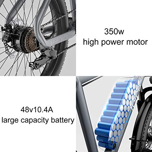 51Kb VsMgRL. SL500 G-Force Electric Bicycle, 26-Inch Mountain Electric Bicycle for Adults