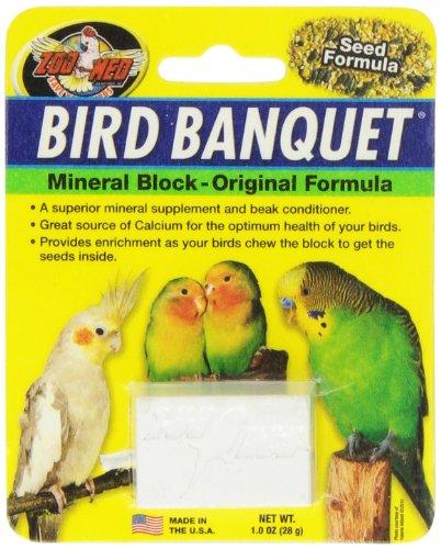 Zoo Med Bird Banquet, Vogelfutter Futterblock, Samen, klein 1 x 28 g