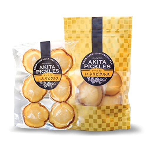 チーズインいぶりピクルスプレミアムセット〔ダブルチーズ・わさび・柚子胡椒・アーモンド×各96g〕