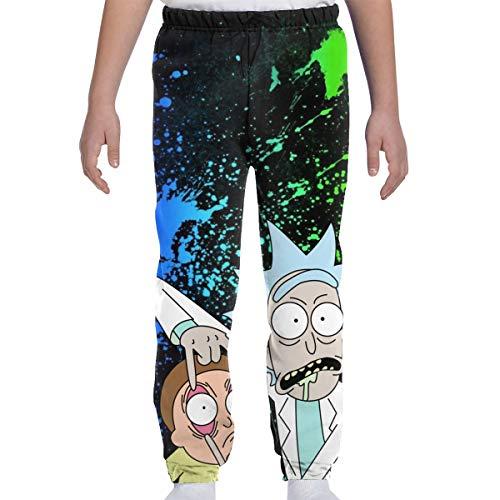 TIERA BENDER - Pantaloni sportivi con logo Rick Morty Come mostrato XL