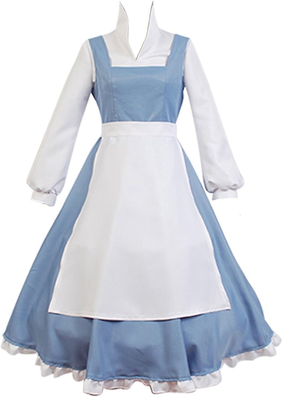 Dienstmädchen Kleid Prinzessin Kostüm Hellblau Maßanfertigung B06ZZJ99TS Deutschland  | Verschiedene Stile