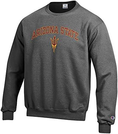 Arizona State Sun Devils Crewneck Sweatshirt Varsity Charcoal X Large product image