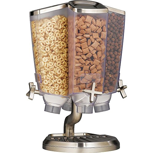 Review Of Rosseto Cereal Dispenser with Short Pole 14L x 13W x 19 3/4H - HUB-83771