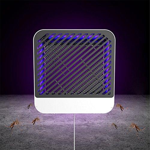 GFYWZ Electric Mosquito Killer 5W Sin Químicos Zero Ruido Diseño 80㎡ Area Mosquito Trap Lamp para Restaurante Supermercado Bar Bakery Warehouse Home Standing/Colgantes