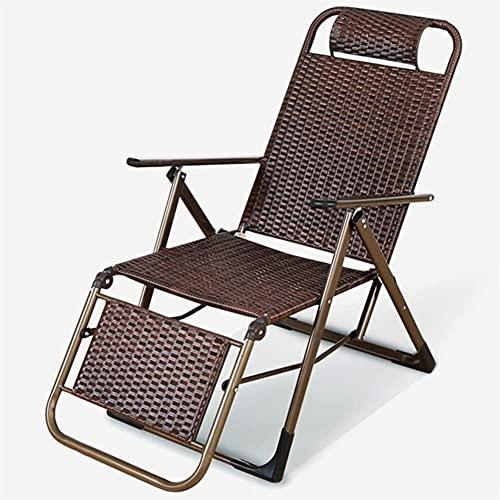 Adesign Cojines tumbonas, reemplazo de jardín clásico Patio Silla Gruesa sillón reclinable Relajante Almohadilla para Viajes jardín Interior al Aire Libre