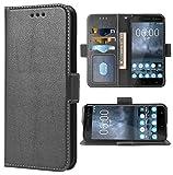 Phone Case for Nokia 6 Folio Flip Wallet Case,PU Leather