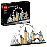 Build a detailed model of the London skyline Model features the National Gallery, Nelson's Column, London Eye, Big Ben and Tower Bridge Includes collectible booklet containing information about the design, architecture and history of the building LEG...