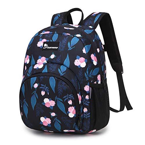 Mountaintop 5L Kinderrucksack Kleinkind Rucksack Kindergartentasche mit Brustgurt für Mädchen Jungen,23 x 12 x 30CM