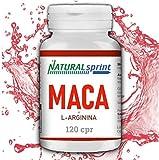 Maca + L-Arginina + Vitamina C + Zinco+ Piperina 120 CPR Maca Peruviana