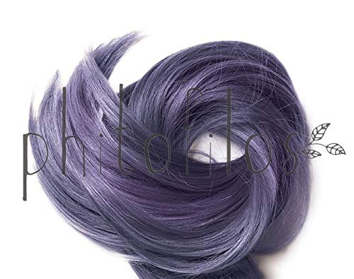 PHITOFILOS - Katam - Black dye with violet undertones - For cool, dark nuances - 100% natural & pure - Vegan - 100 g