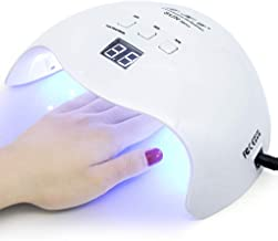 MAYCREATE® Gel UV Nail Light,LKE Nail Dryer 40W Gel Nail Polish UV Light With 3 Timers Professional Nail Art Tools Accessories White