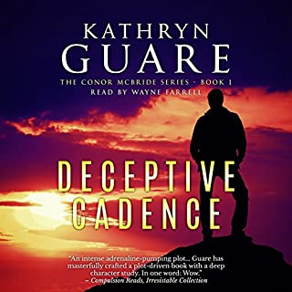 Deceptive Cadence     The Virtuosic Spy, Book 1              By:                                                                                                                                 Kathryn Guare                               Narrated by:                                                                                                                                 Wayne Farrell                      Length: 11 hrs and 12 mins     180 ratings     Overall 4.2