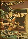 DUANQIAN Póster De Trainspotting, Póster De Estilo Vintage, Barra De Pared, Decoración Artística De La Casa, Núcleo De Pintura