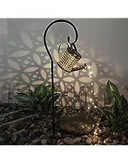 Tuin Art Light Douche Ster Licht Metalen Gieter Kan Led Fairy Lights voor Tuin Decor Outdoor Tuin Lamp Gieter Sprinkles met Fairy Lights Ornamenten (met beugel)