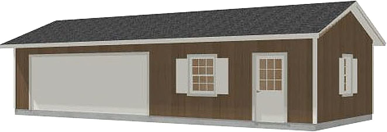 NEW Garage Plans: Two Car with Plan Topics on TV Shop 800-1 -