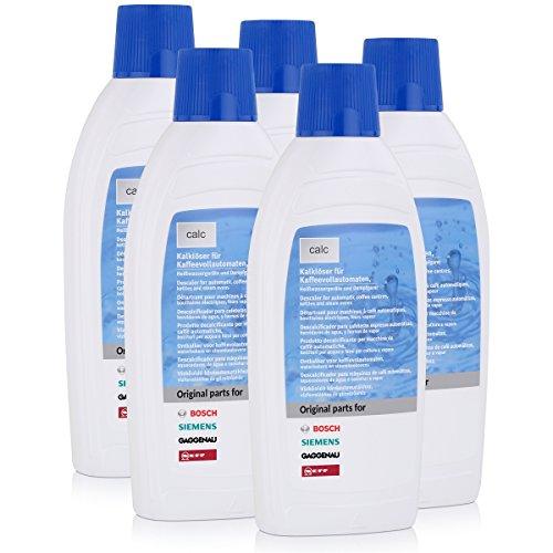 Bosch/Siemens 311680 Kalklöser für Vollautomaten 500 ml (5 Stück)