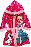 Mgs33 Peignoir Frozen Reine des neiges Rose Candy pour Fille, Tout Doux, Superbe Couleur,Disney Elsa...