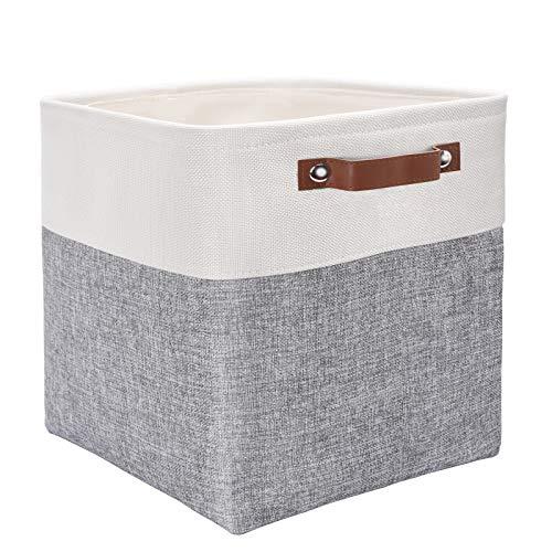 Mangata Cube Aufbewahrungsbox, Stoffaufbewahrungskorb, 30 cm für Schlafzimmer, Bastelraum, Krankenschwester