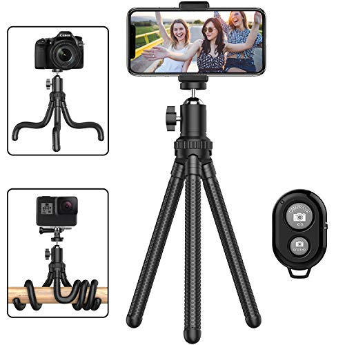 Desktop Tabletop Stand Compact Tripod for Projector Camera Color : Black, Size : One Size Crystalzhong Camera Tripod Aluminum Alloy Mini Tripod