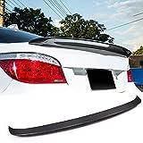 MCARCAR KIT Carbon Fiber Trunk Spoiler Fits for BMW 5 Series E60 Sedan 2004-2010 Factory Outlet CF 520i 523i 525i 528i 530i 535i 540i 545i 550i M Sport M5 Car Rear Boot Lid Highkick Spoiler Wing Lip