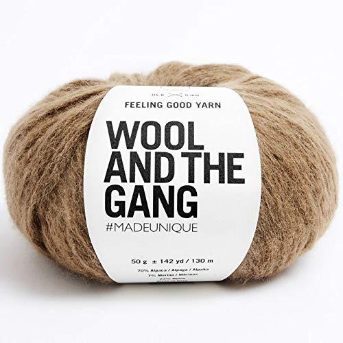 Wool and the Gang Feeling Good Garn 228 Braunzucker