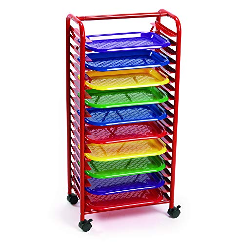 Colorations MELRACK Moblie Art Rack