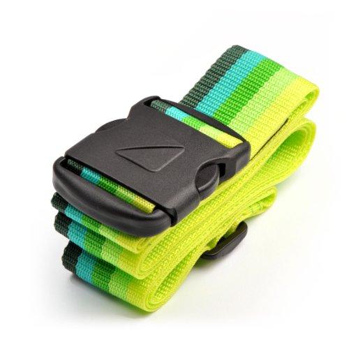 Travel Blue 040 Sicherheits-Koffergurt 200 x 5cm, farblich sortiert