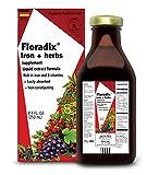 Floradix Iron + Herbs, 8.5 Fl Oz Glass Bottle