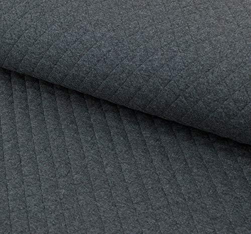 Nadeltraum - Tela acolchada de algodón jacquard con rombos - Se vende por metros a partir de 50 cm x 150 cm - Tela para coser