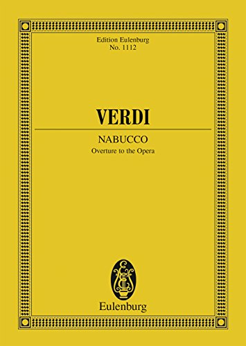 Nabucco: Overture (Eulenburg Studienpartituren) (English Edition)