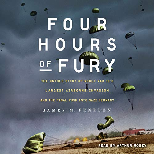 Four Hours of Fury audiobook cover art