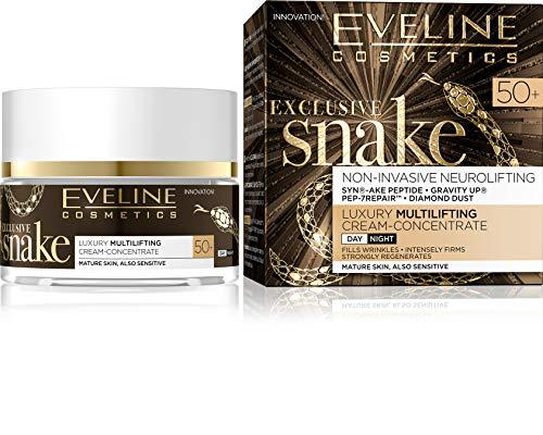 Eveline Cosmetics Korean Ex. Schlangencreme-Modellierung Konzentrat Tag/Nacht 50+, 50 ml