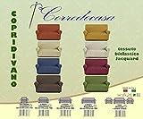 Copridivano 3 posti in Tessuto Elastico (da 170cm a 210cm) Made in Italy (Colore da Scegli...