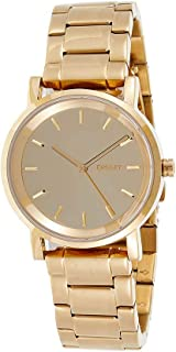 DKNY Women's Gold Dial Stainless Steel Band Watch - NY2178