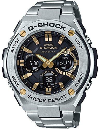 [カシオ] 腕時計 ジーショック G-STEEL 電波ソーラー GST-W110D-1A9JF シルバー