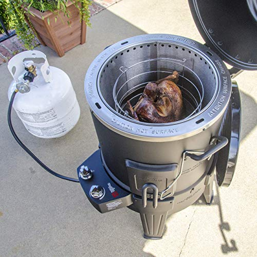 Char-Broil The Big Easy TRU-Infrared Smoker Roaster & Grill + Cover