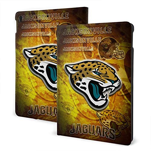 Jacksonville Football Jaguar Slim Lightweight Smart Shell Stand Hard Back Protective Cover Case with Auto Wake/Sleep for Ipad One Size