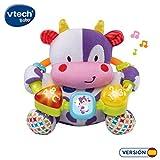 VTech- Vaca muusical Peluche Interactivo de Bebe con Suaves,...
