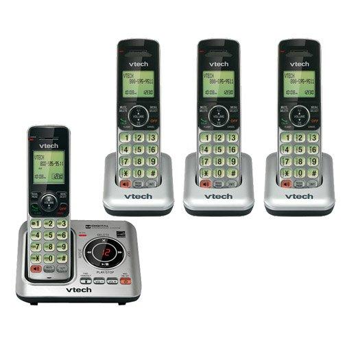 Vtech CS6629 – 4 teléfonos inalámbricos con base y cargadores y tecnología DECT 6.0 (CS6629 + (3) CS6609): Amazon.es: Oficina y papelería
