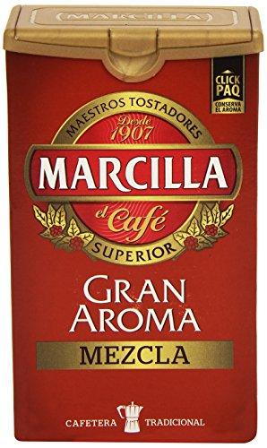 Marcilla Gran Aroma Mezcla - Starke Gemahlene Kaffeemischung, 1er Pack (1 x 250 g)