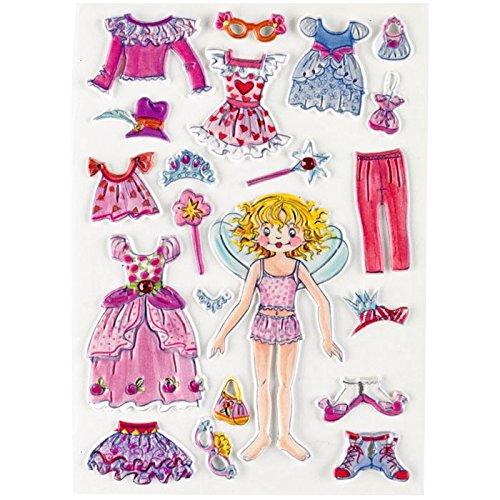 Gel Stickers 11550 Prinzessin Lillifee anzieh Plaisir de Spiegelburg [Jouet]