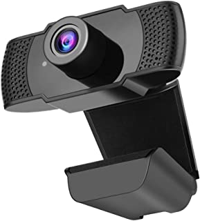 Runsnail Webcam HD 1080p with Microphone, Web Camera 100-Degree View Angle,USB Webcam Compatiable with PC Laptop for Recor...