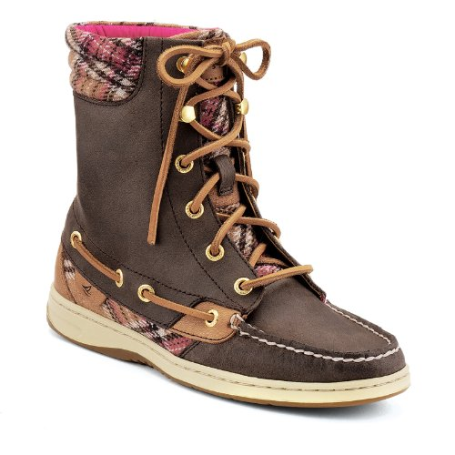 5c6b69d46ba Sperry Top-Sider Hiker Fish Boot - Women's Brown/Wool Plaid, 9.5 ...