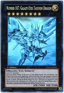 YuGiOh Number 107: Galaxy-Eyes Tachyon Dragon LTGY-EN044 ( Ghost)