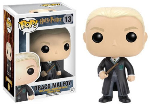 Funko POP! Harry Potter: Draco Malfoy con el uniforme de Hogwarts